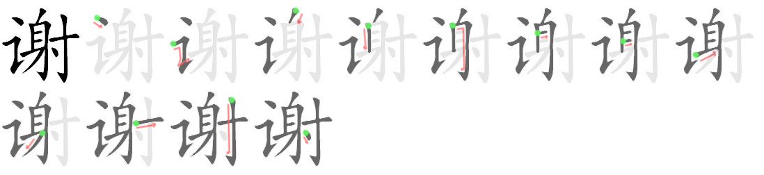 how to say order in chinese