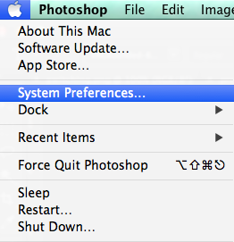 screenshot type chinese preferences